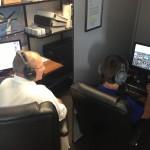 Inflight Pilot Training Simulator