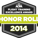 AOPA Honor Roll Inflight Pilot Training  2014