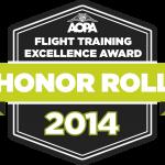 AOPA Honor Roll Inflight Pilot Training  2014